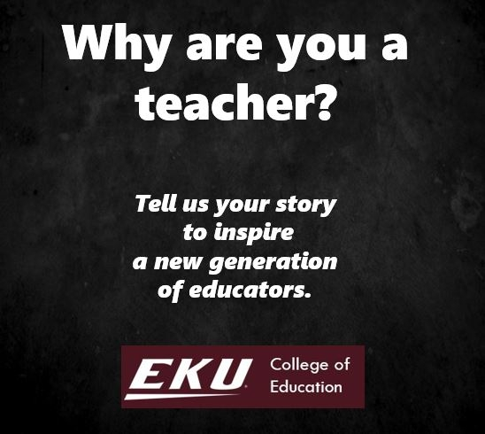Why are you an educator?